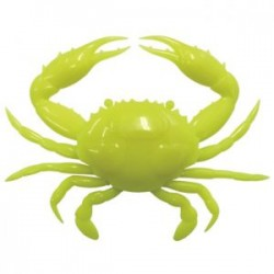 "Super Crab 6"" - Chartreuse"