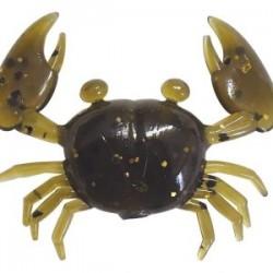 "Super Little Crabs 1"" - Green Gold Flake"