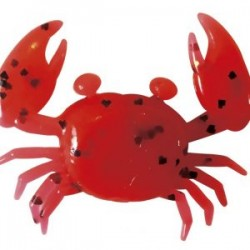 """Super Little Crabs 1"""" - Solid Red"""